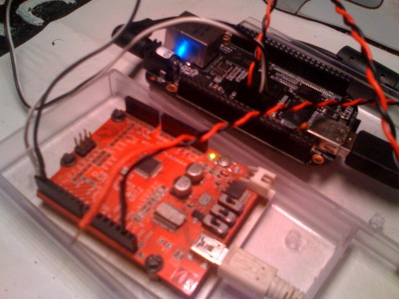 Zugang zur seriellen Debug-Konsole eines BeagleBoneBlack über einen Seeduino